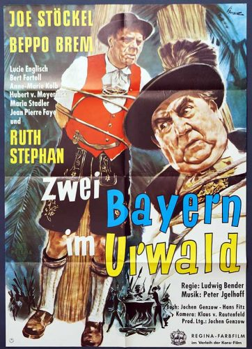 Zwei Bayern im Urwald